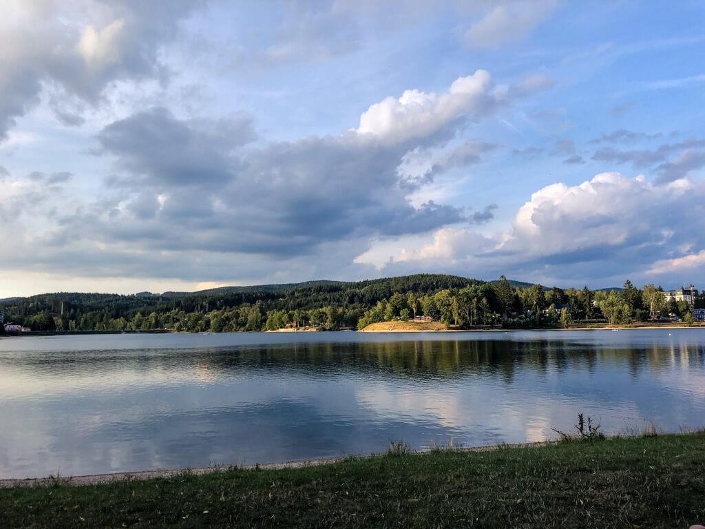 Jablonecká přehrada Mšeno