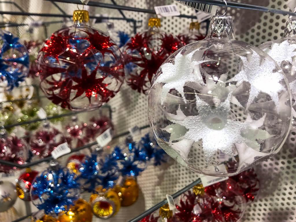 Vánoční ozdoby na výstavě Křehká krása