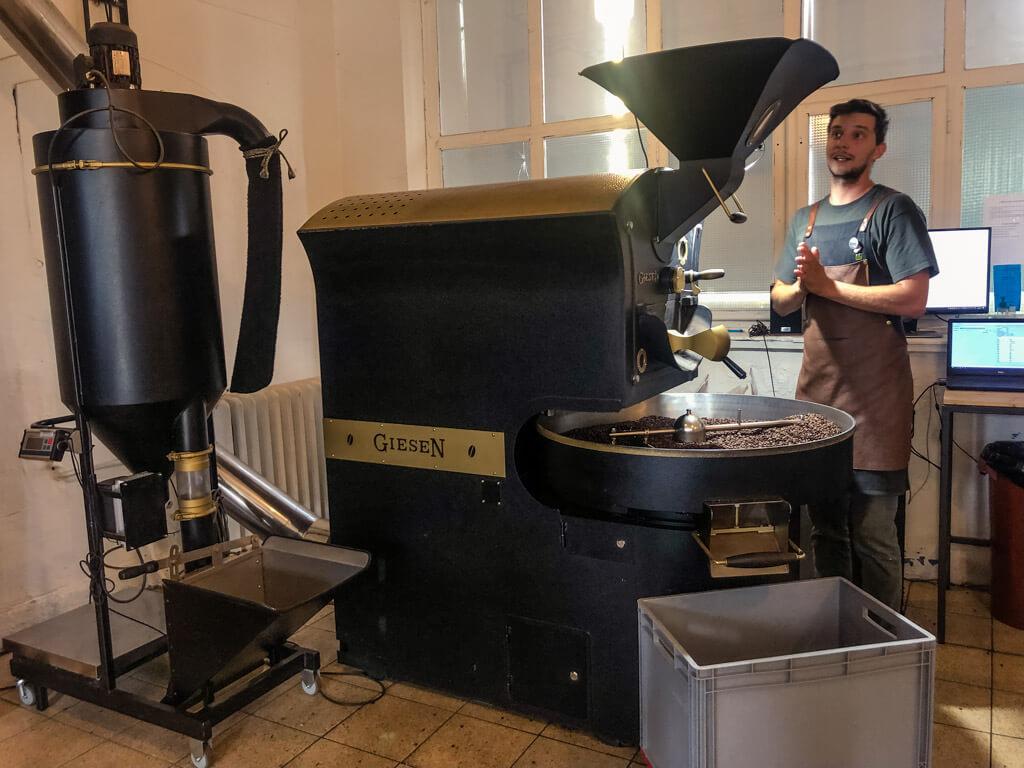 Pražírna kávy Nordbeans v Liberci