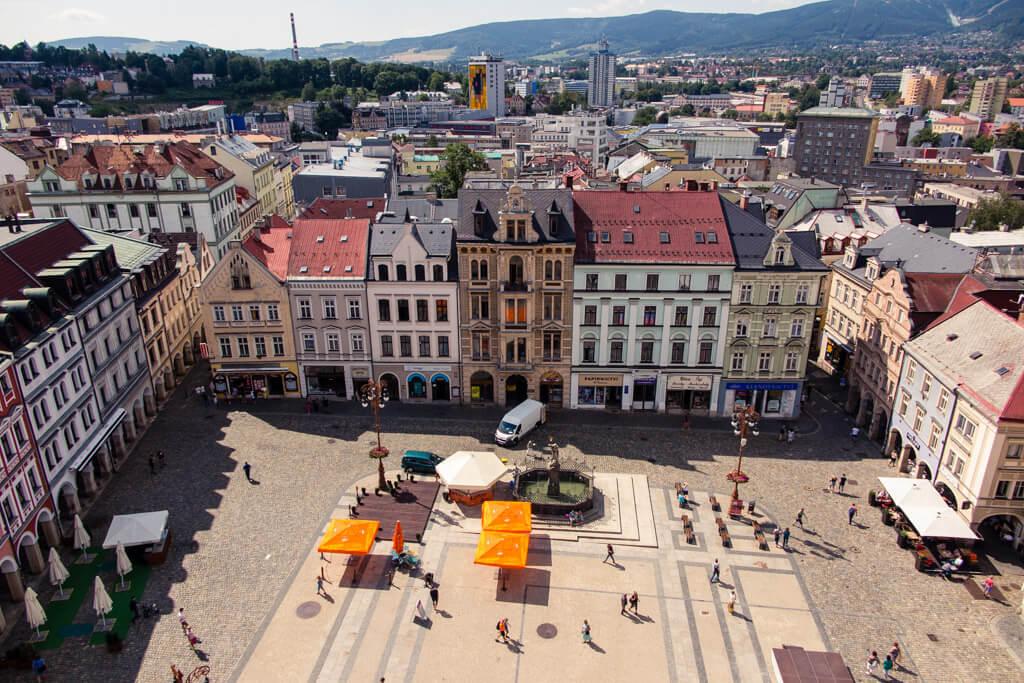 Liberec Náměstí Dr. E. Beneše