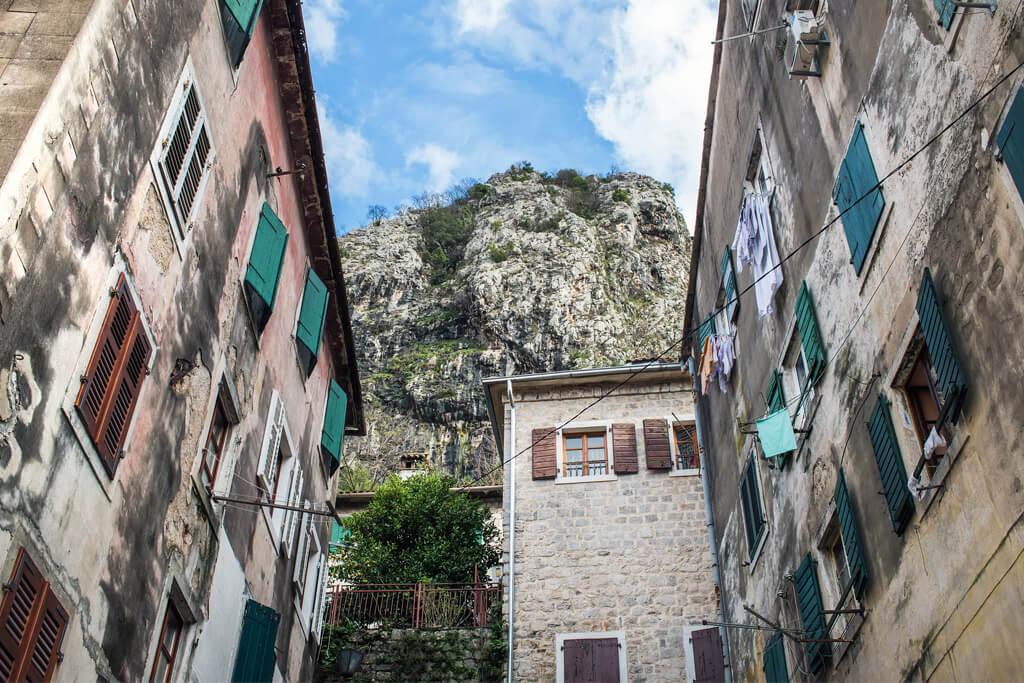 Houses in Kotor