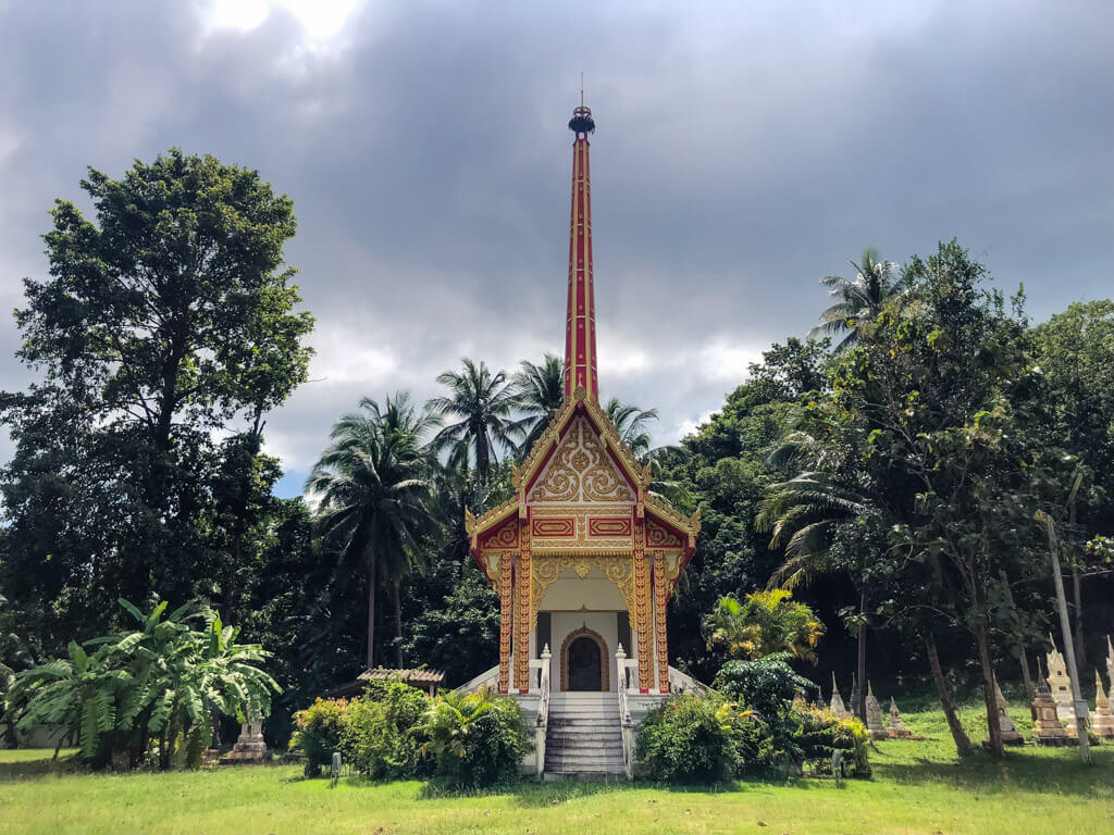 Unique Thai temple-like Crematorium