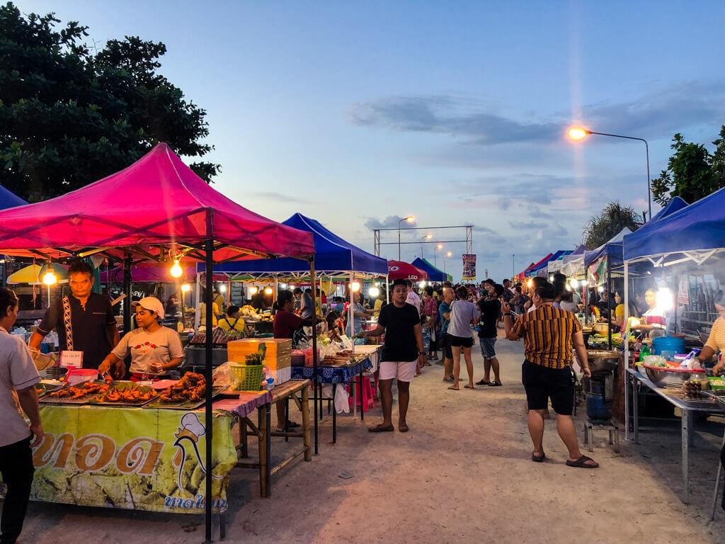 Night market in Koh Phangan