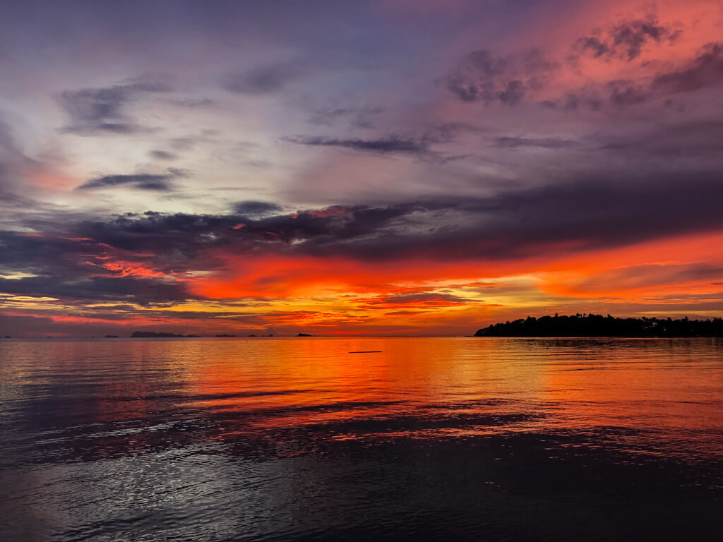 Sunset in Koh Phangan