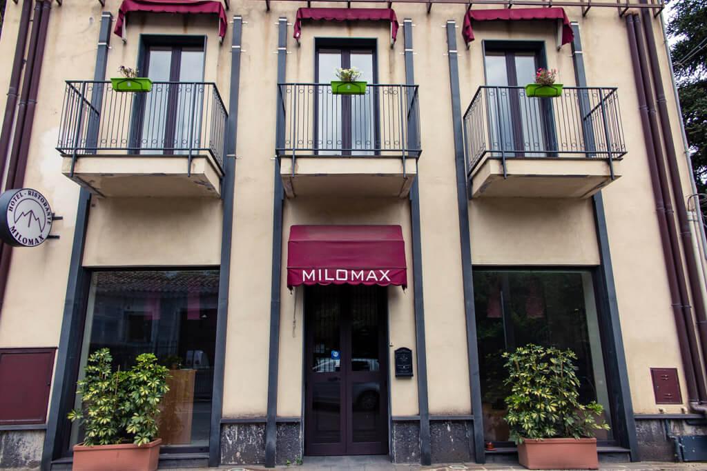 Hotel Milomax in Milo, Sicily