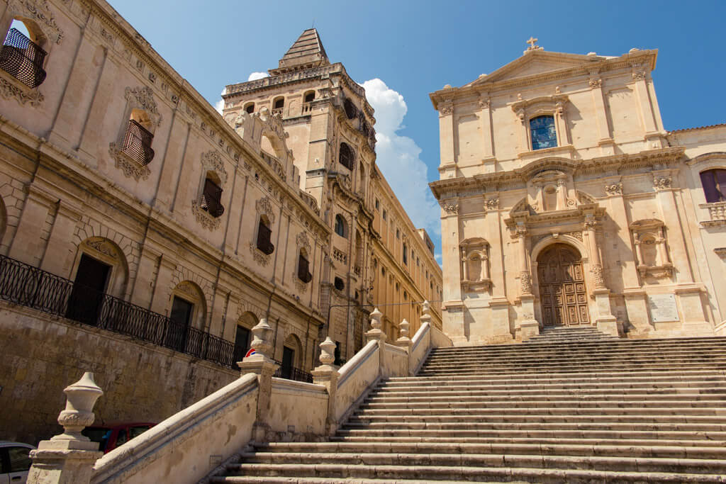 Architecture in Noto Sicily