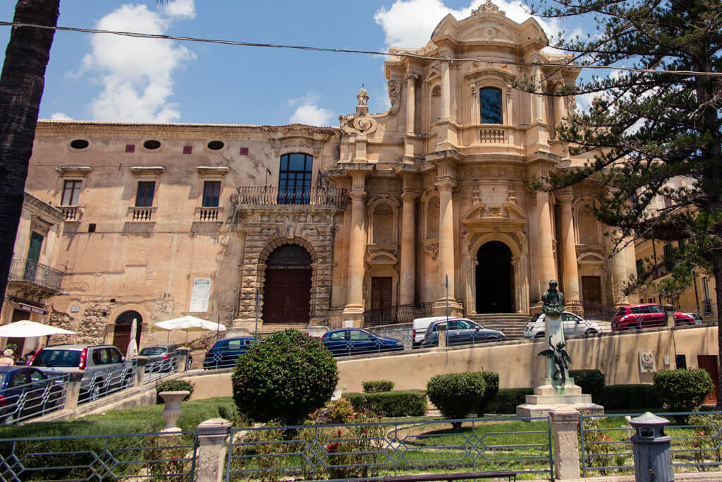 A church in Noto Sicily
