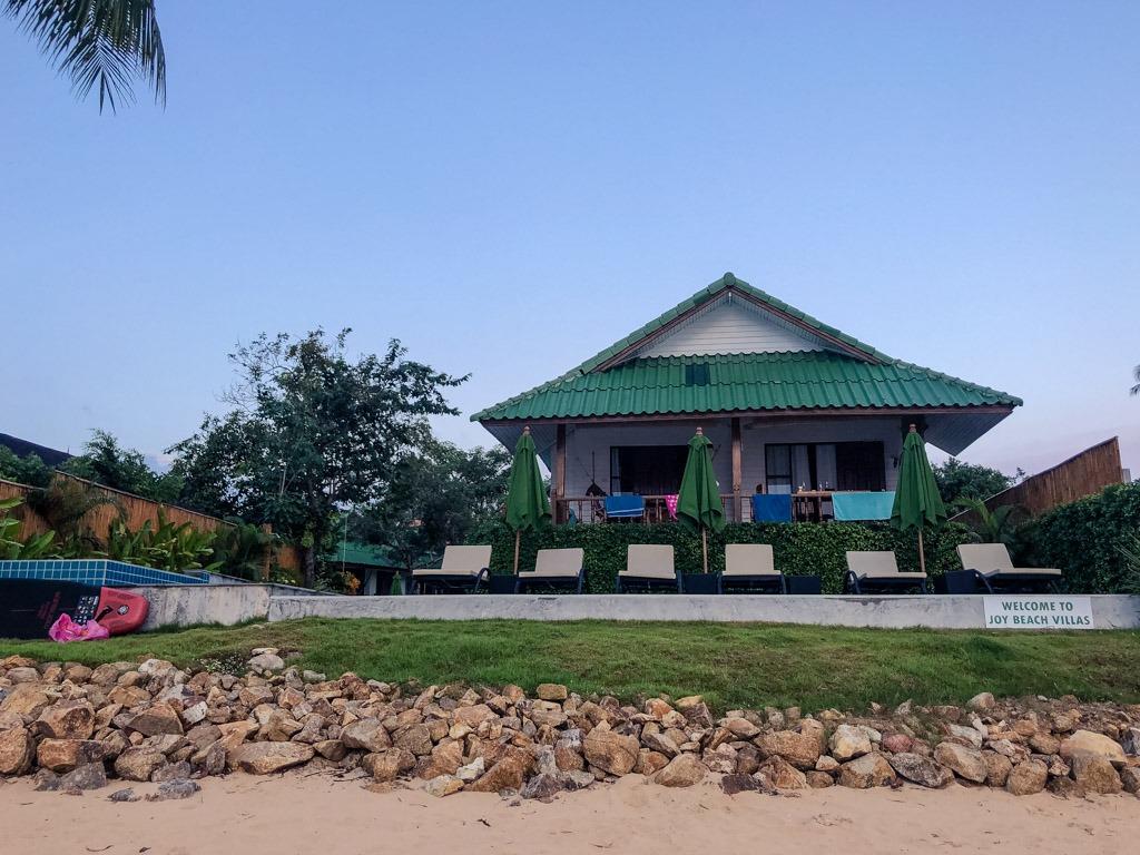 A beach villa in Koh Phangan Thailand