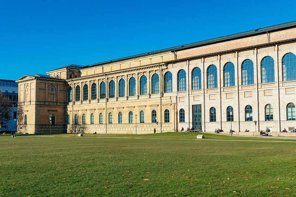 The Alte Pinakothek Musem from the Outside