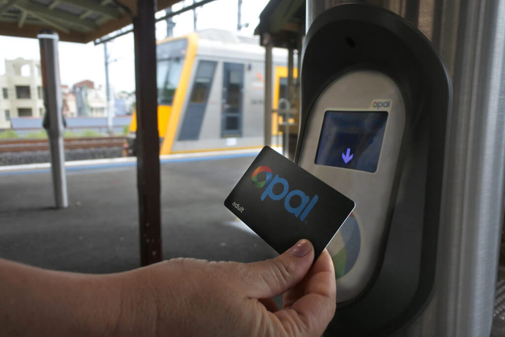 Using Opal card for Sydney's public transport