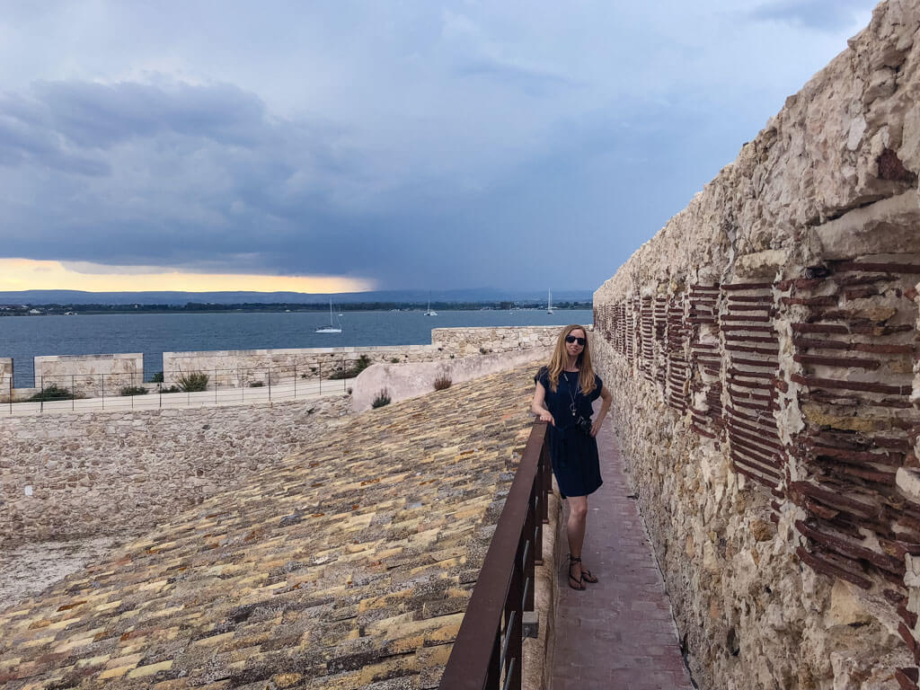 Veronika from TravelGeekery in Syracuse, Sicily