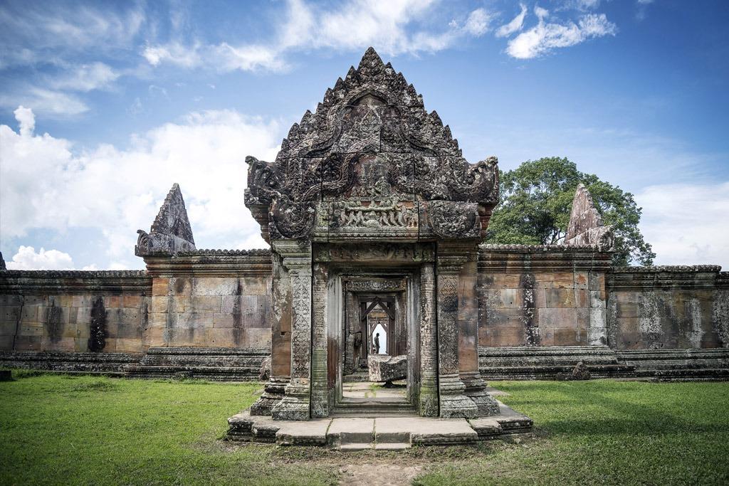 Ancient Hindu Temple Preah Vihear in Cambodia