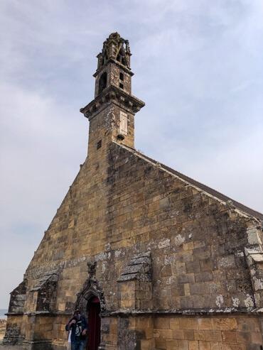 Chapel of Notre-Dame-de-Rocamadour in Camaret sur Mer