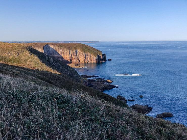 Stunning cliffs of the Emerald Coast
