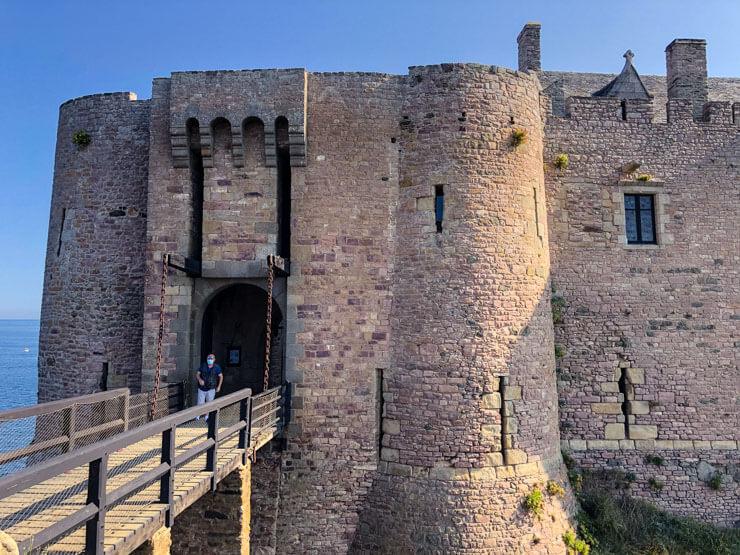Fortress La Latte in Brittany France