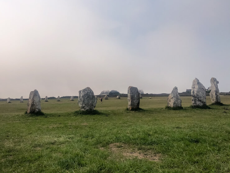 Megaliths of Lagatjar in Brittany
