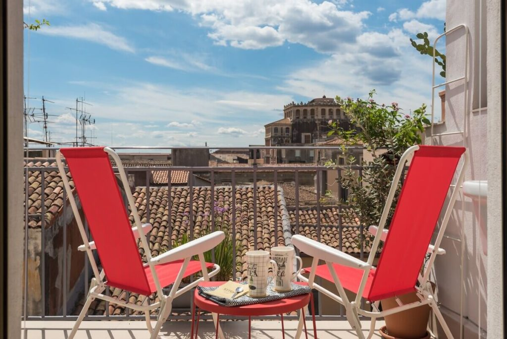 Amazing rooftop apartment in Catania Sicily