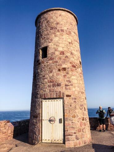 Lighthouse on Cap Frehel Brittany