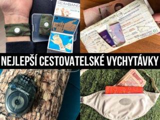 Fotky produktů a text: Nejlepší cestovatelské vychytávk