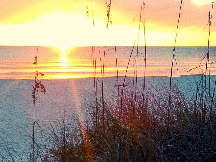 Sunset on Anna Maria Island Florida