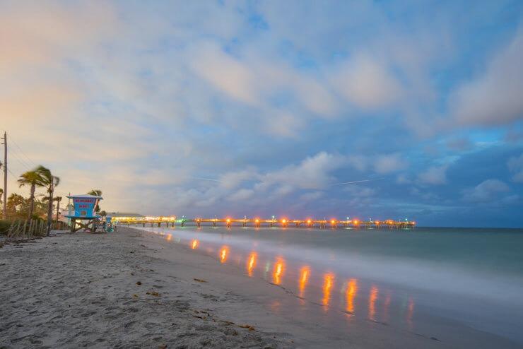 Dania Beach near Miami FL