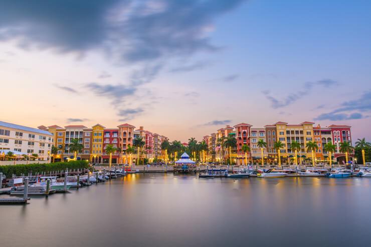 Boat marina in Naples FL