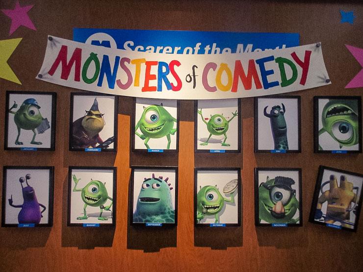 Monster Laugh Floor at Magic Kingdom