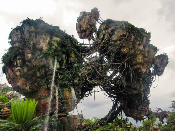 Pandora, the World of Avatar, in Animal Kingdom theme park