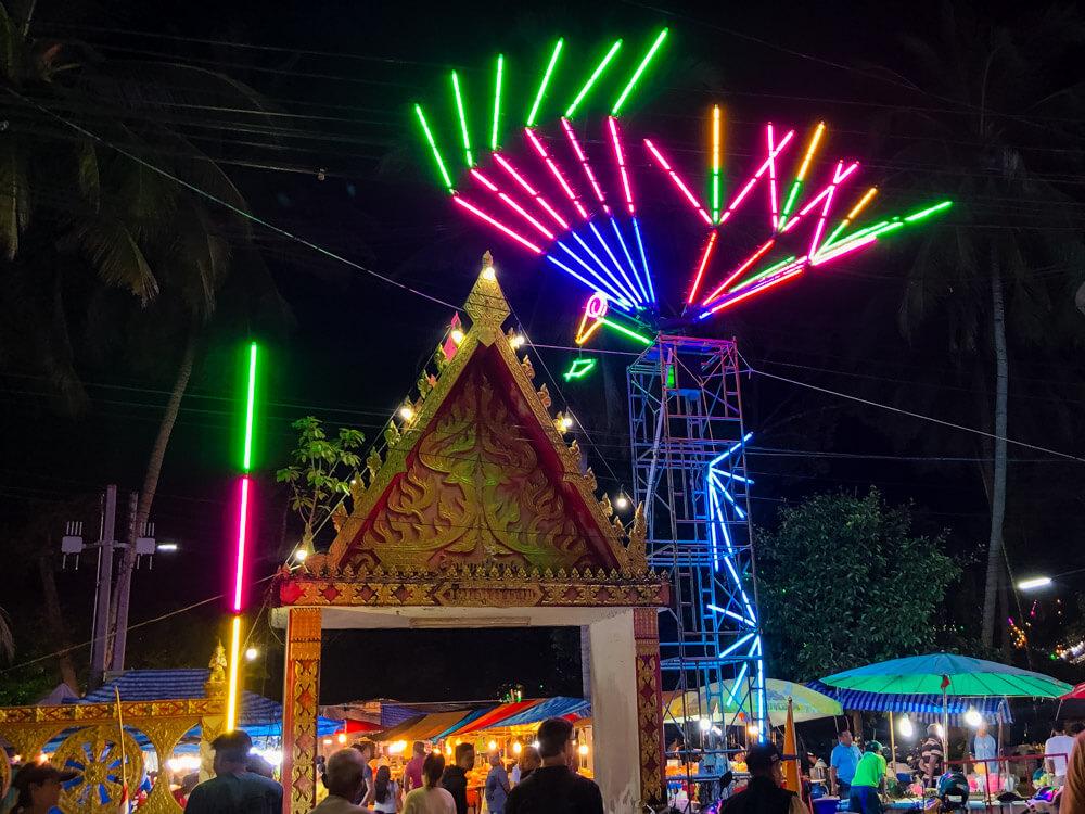 Thai festival in Koh Phangan