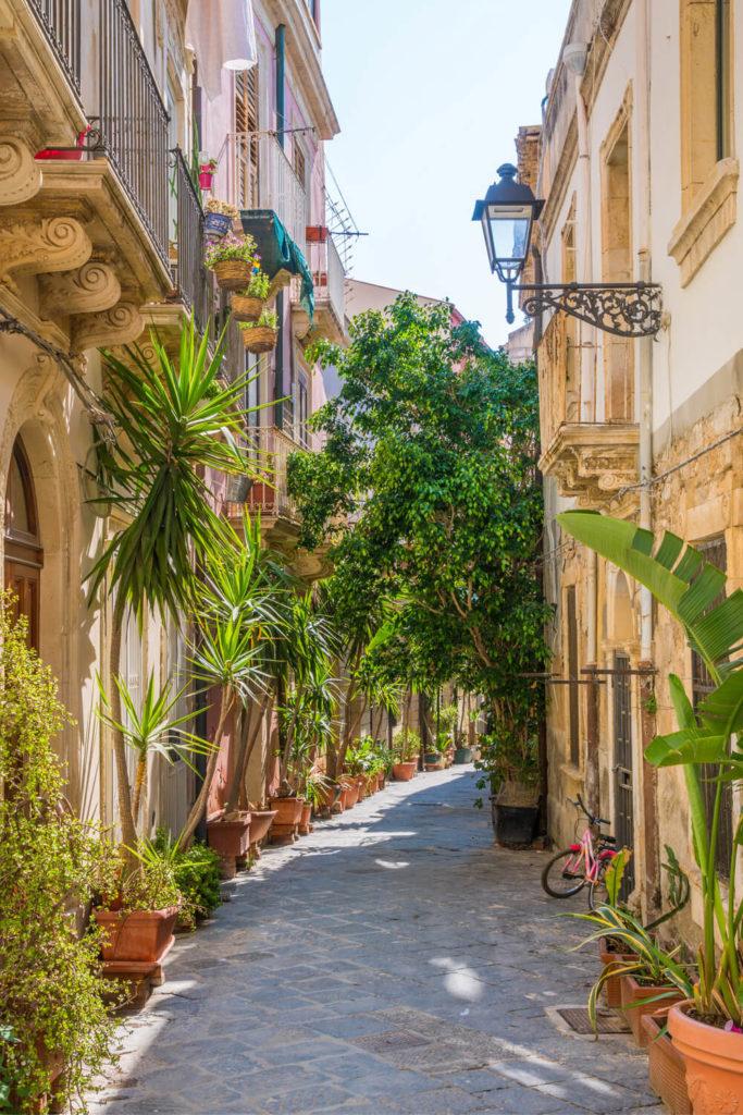 Ortigia in Siracusa Sicily