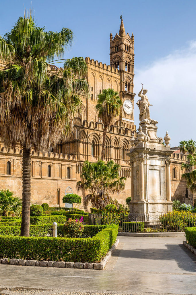 View of Palermo Sicily