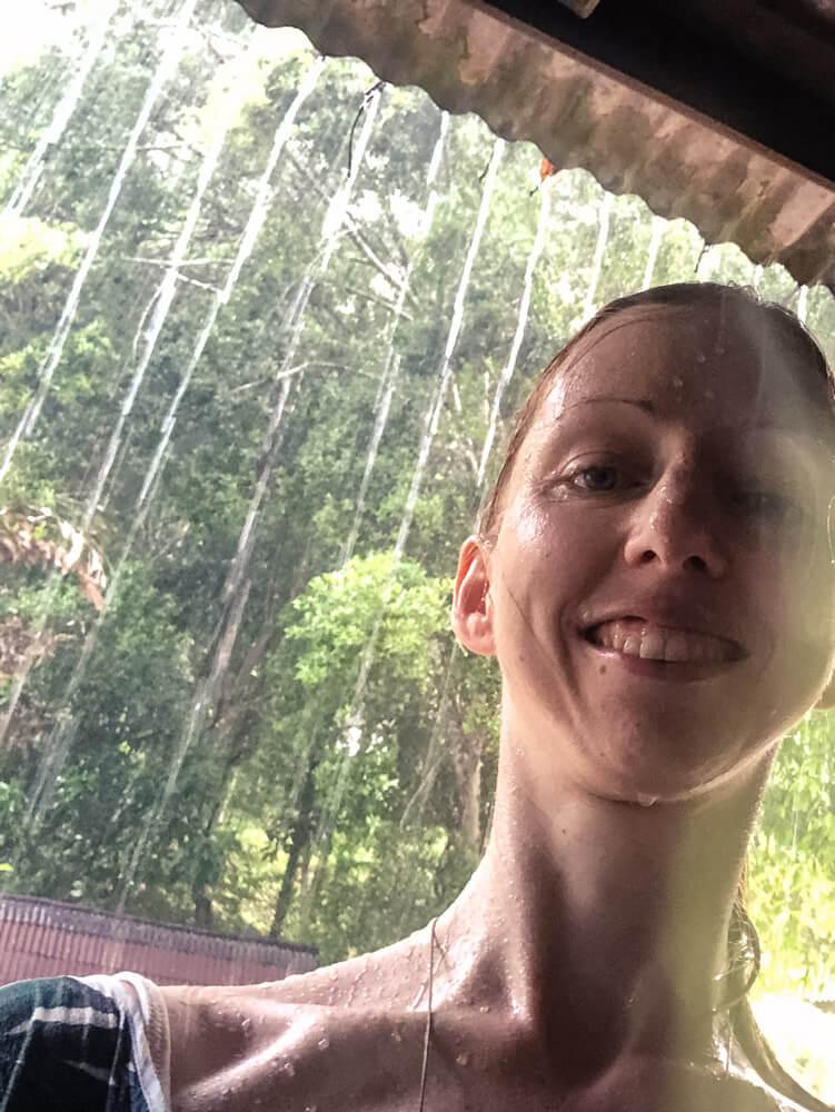 Veronika in tropical rain