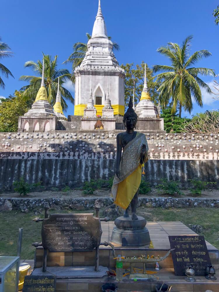 Wat Phu Khao Noi temple in Koh Phangan
