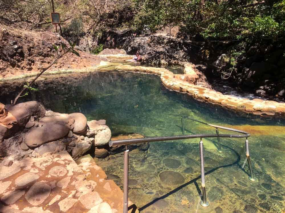 view of a thermal spring pool