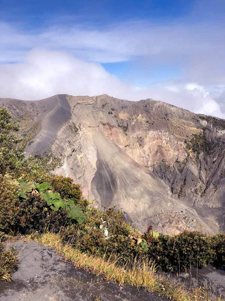 craters of a Costa Rica Volcano