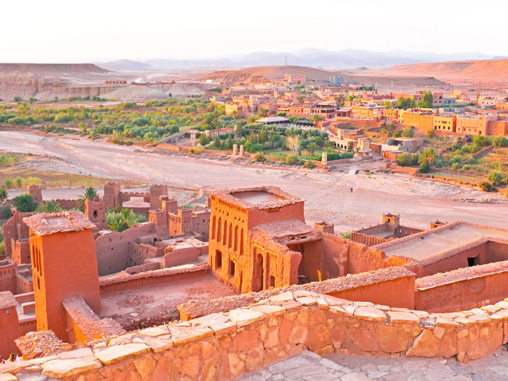 an ancient structure in Morocco: Ait Ben Haddou