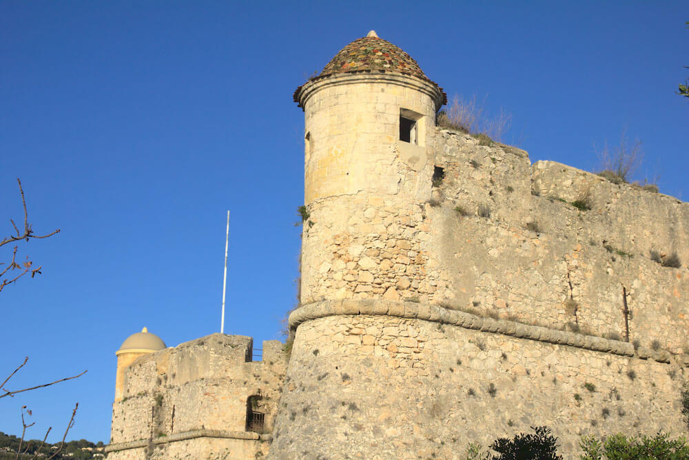 A view of a fortress